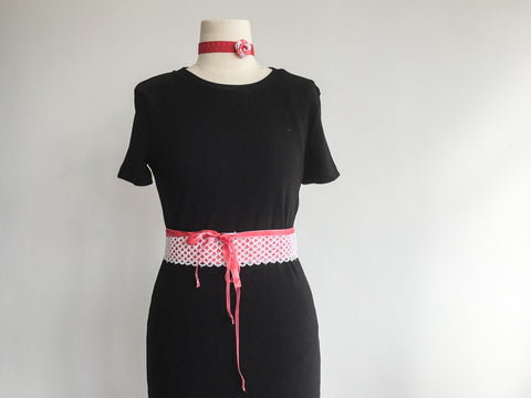 Pink mermaid belt