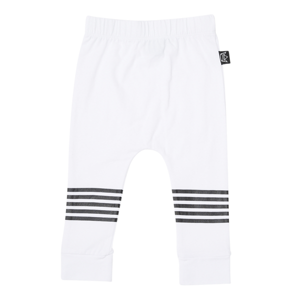 5 Stripe Pant in White