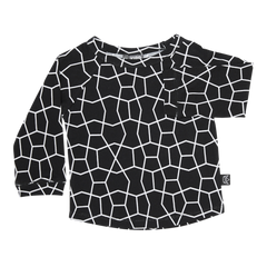 Long Sleeve T-Shirt - Black Hex