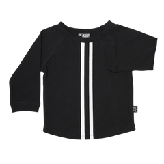 Long Sleeve GT T-Shirt - Black/White