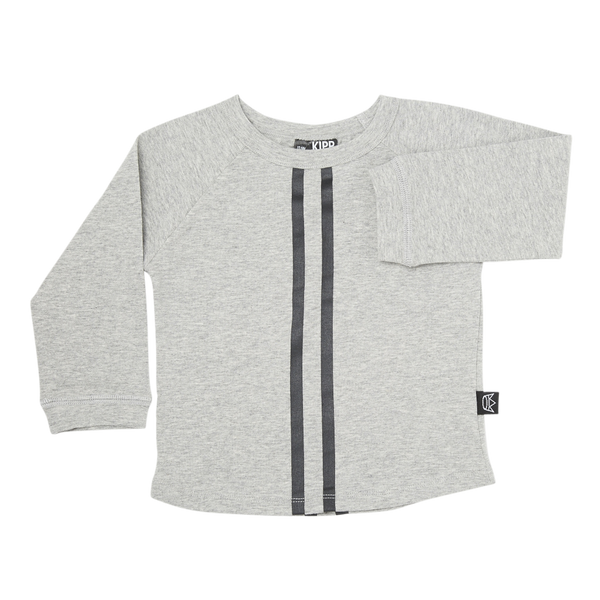Long Sleeve GT T-Shirt - Grey/Black