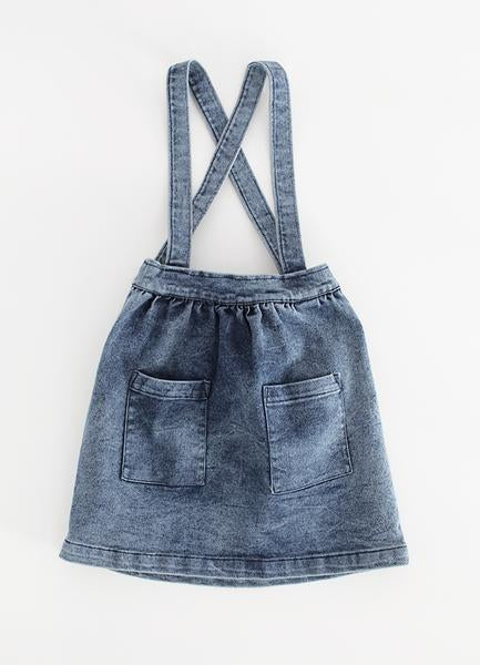 Pinafore - Blue Denim