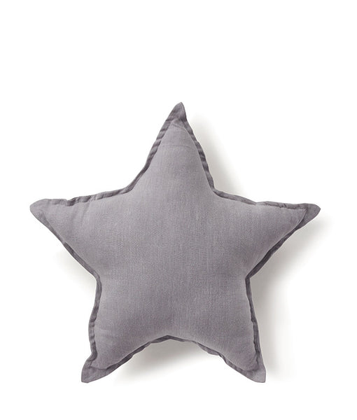 Star Cushion - Dove Grey