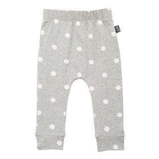 Dot It Pant - Grey/White