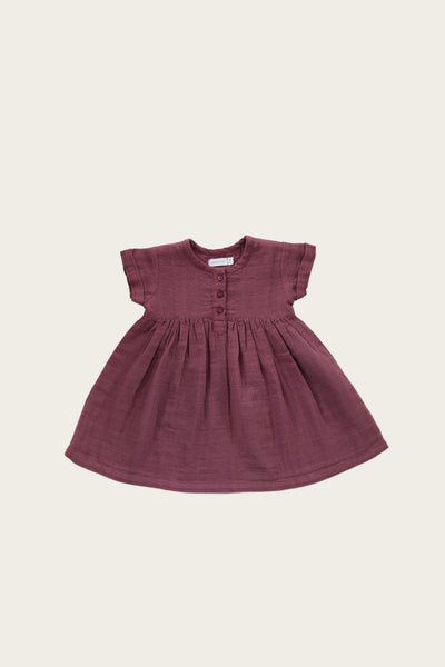 Sugar Plum - Short Sleeve Dress