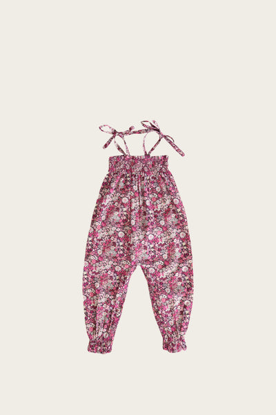 Summer Playsuit - Garden Floral