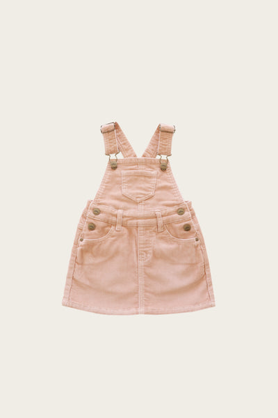 Cord Chloe Overall Dress - Angel