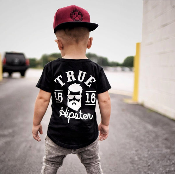 Hipster Tee - Black