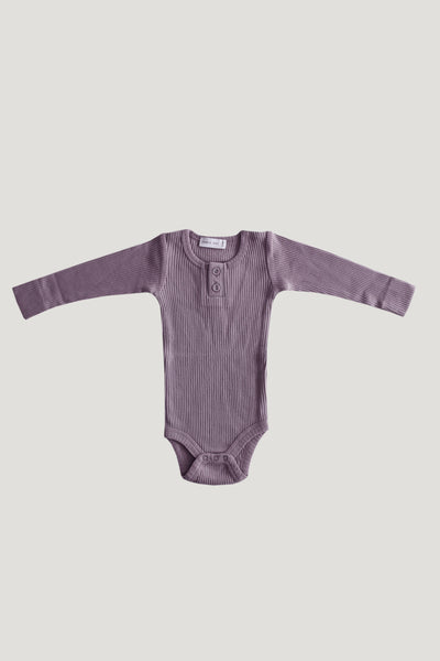 Cotton Modal Bodysuit - Dusk