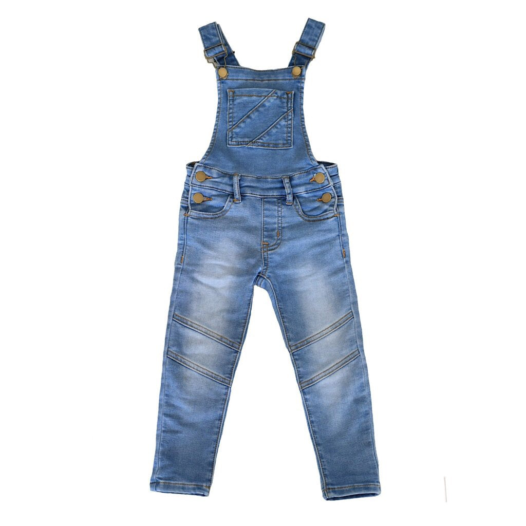 a4343f0bb Jesse Blue Overalls - Blue Acid Wash – Clavell & Co
