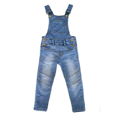 Jesse Blue Overalls - Blue Acid Wash