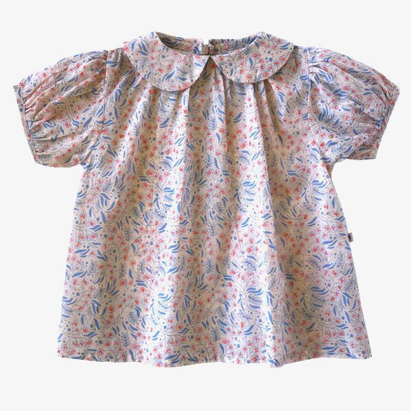 Magnolia Blouse - Bluebell
