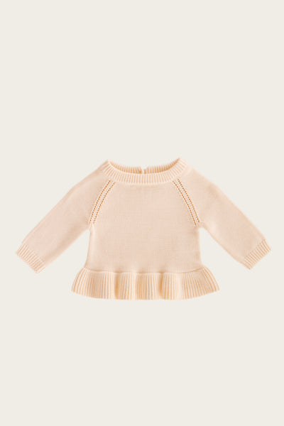 Ava Knit - Peachy