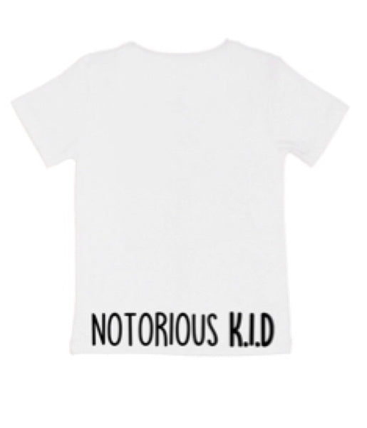 Notorious K.I.D Tee - White