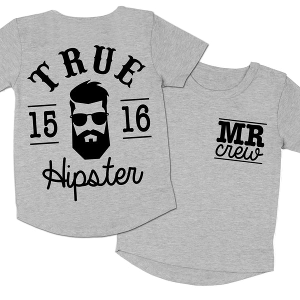 Hipster Tee - Grey