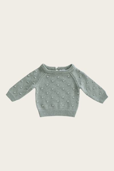 Dotty Knit - Misty Fleck