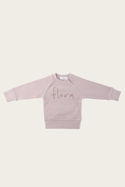 Flora Sweatshirt - Almost Mauve