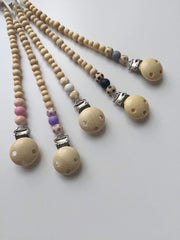 Dummy Chain - Pink Polka Dot