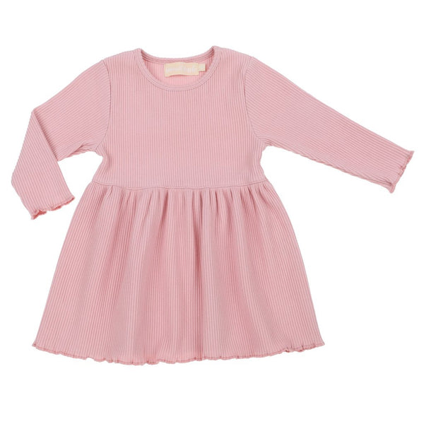 Long Sleeve Dress - Pink