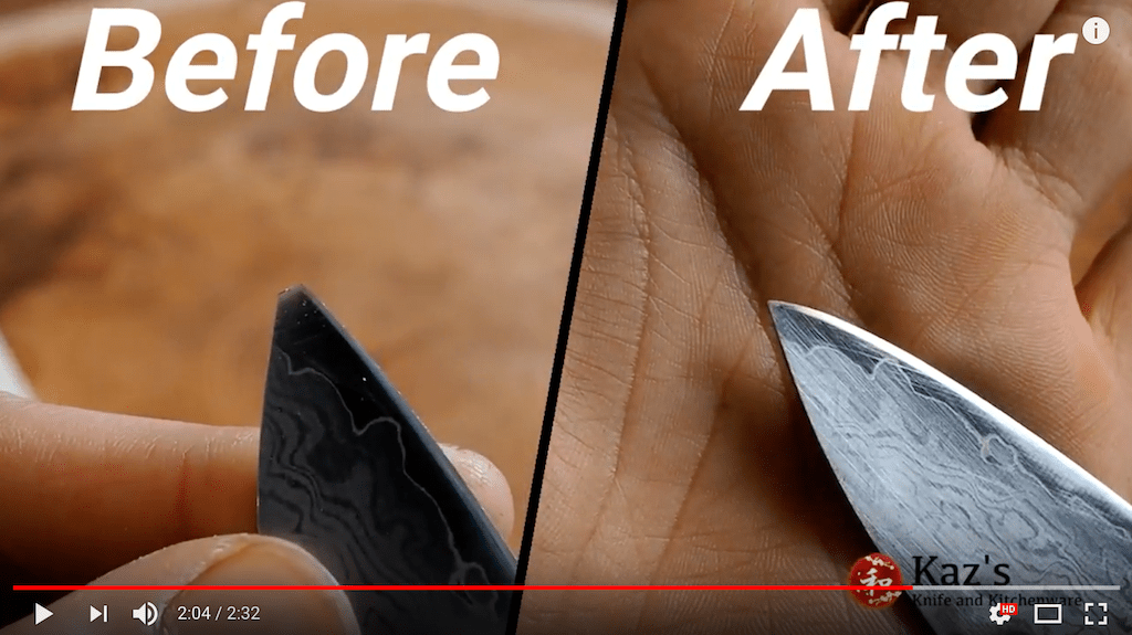 Kaz presents How to fix the broken knife tip