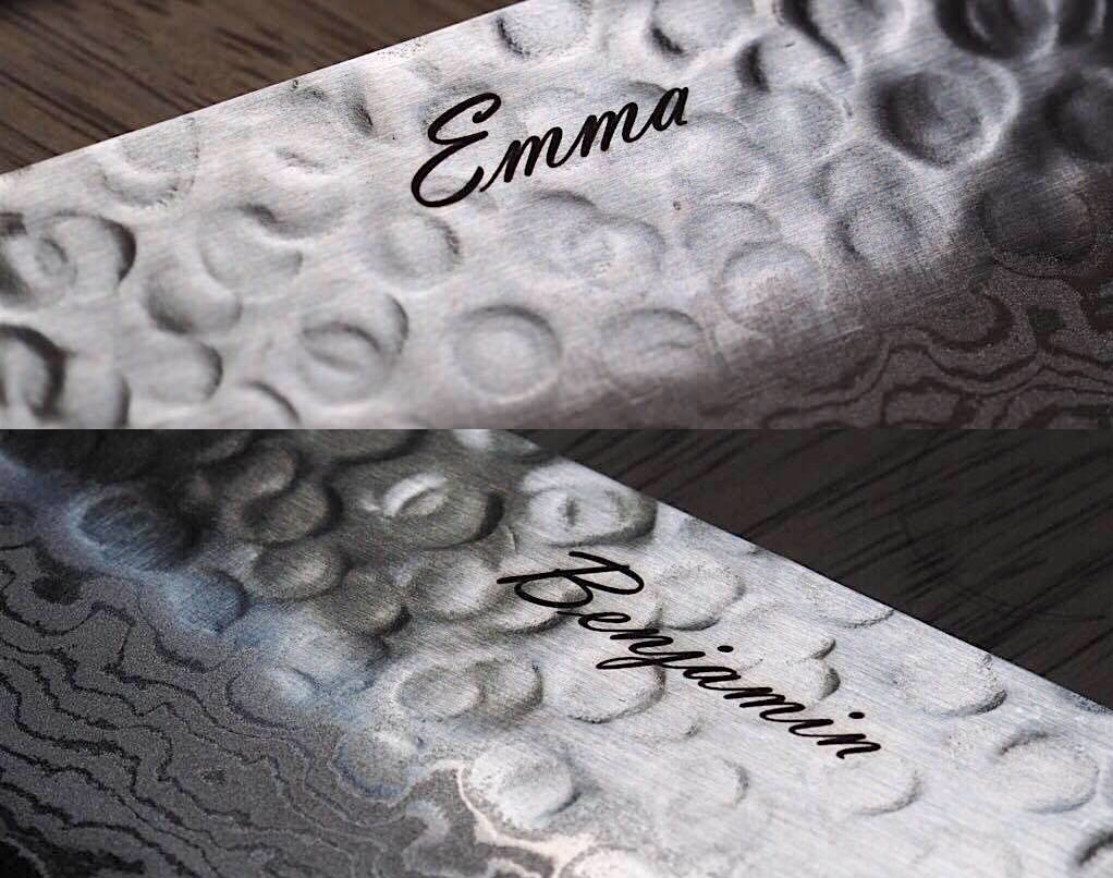 Knife Engraving Service