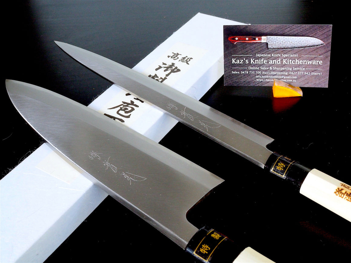 Sakai Jikko Japanese Knife Sets-1 (Sashimi and Deba)