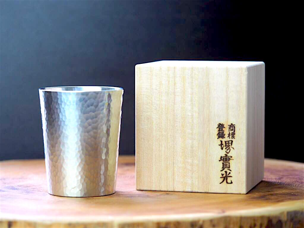 Tin Beer Tumbler Hammered Finish for 250ml