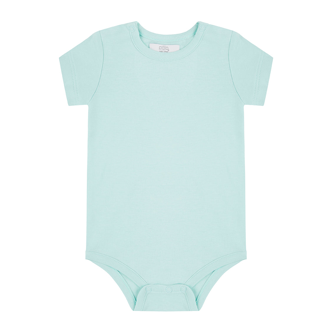 Short Sleeved Bodysuit - Mint