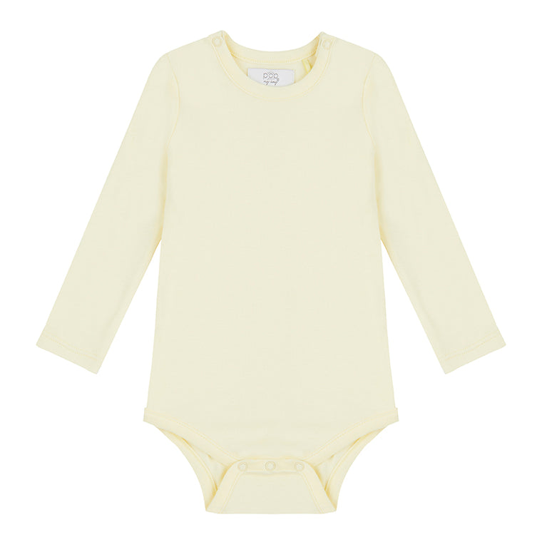 Long Sleeved Bodysuit - Lemon