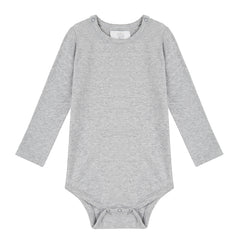 Long Sleeved Bodysuit - Grey