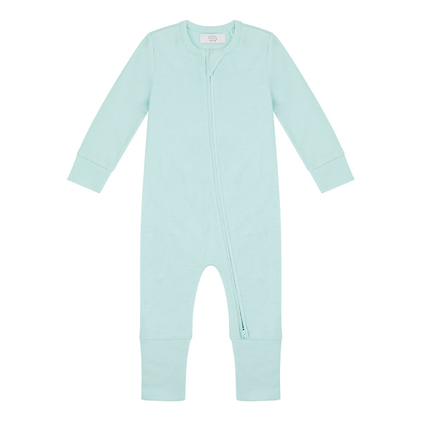 Zippered Sleepsuit - Mint