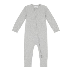Zippered Sleepsuit - Grey