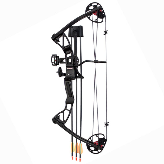 SAS Rex 55 Lb Quad Limb Compound Bow Package