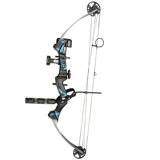 SAS Primal 50lbs Target Compound Bow Pro Package