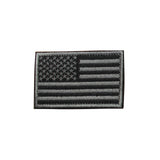 "SAS USA American United States Flag Embroidered Patch 3""x2"" or Rubber Tactical"