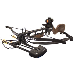 Jaguar 175lbs Recurve Crossbow Red Dot Scope Package