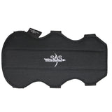"SAS 7.5"" Archery Bow Range Arm Guard One Size with 3 Straps - M to L"