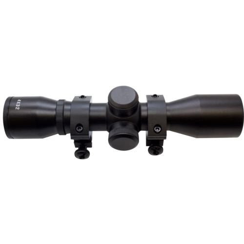 SAS 4x32 Multi-Reticle Crossbow Scope with Rings