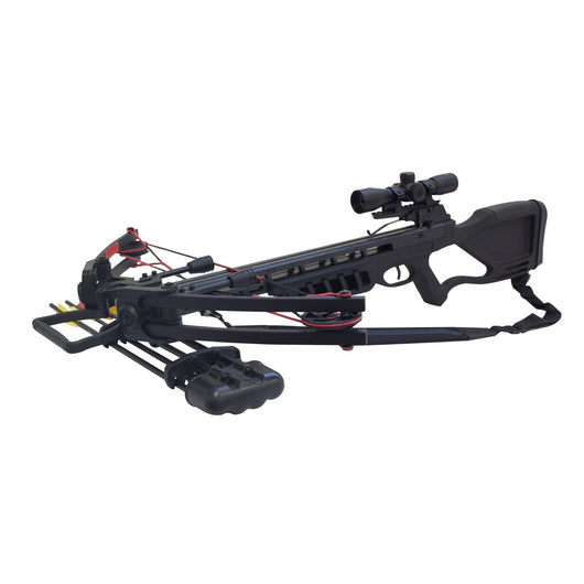 SAS Chopper 175 Crossbow 4x32 Scope Package LH/RH Black - Open Box