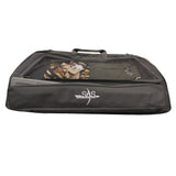"SAS Double Compound Bow Case 43"" Wide Front Arrow Case Compartment Large Bag"