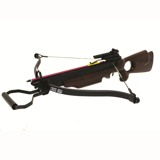 Wizard Powerful 150 Lbs Hunting Recurve Crossbow Wood Color - Open Box