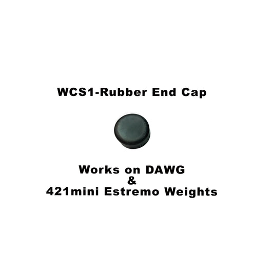 Doinker Stabilizer 0.5 Oz - Rubber End Cap For 1/4-20 Thread
