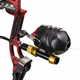 Cajun Spin Doctor Bowfishing Reel Aluminum Dual Pickup Pins with 150lbs Line