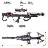 Ravin Crossbow Package R29 with HeliCoil Technology 430 FPS Predator Dusk Gray