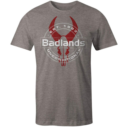 Badlands Men's Unconditional Short-Sleeve Tee Gray