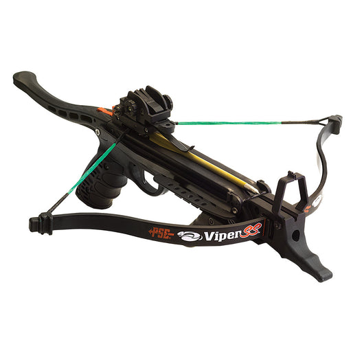 PSE Viper SS Handheld Easy-cock Pistol Crossbow 215 FPS with 3 Arrows - Open Box
