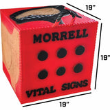 Morrell Vital Signs 2 Combo Foam Target for Field Point/Broadhead - Made in USA