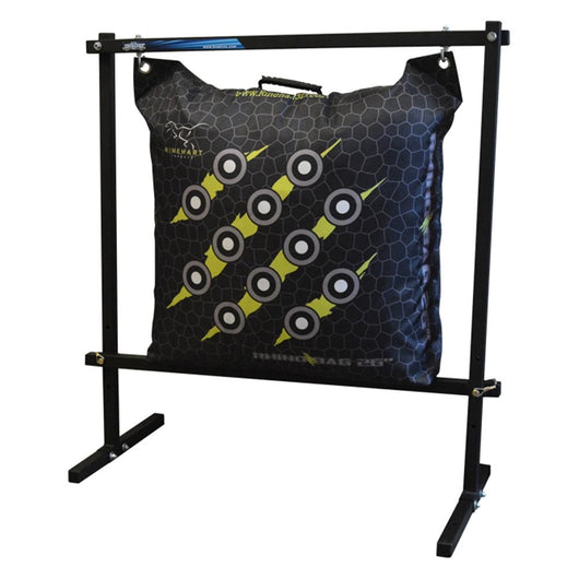 Rinehart Hanging Bag Stand Solid Steel Construction with Powder Coat Finish