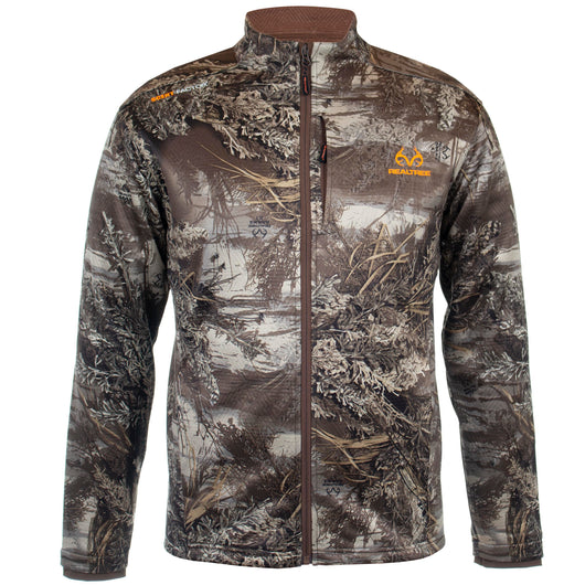 Realtree Mens Techshell Jacket Realtree Max1 XT Size Large - Open Box