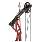 Cajun Bowfishing Shore Runner EXT Bowfishing Package Red Veil Alpine 45 LBs - RH